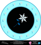Snowdrop OC Cutie Mark Circle