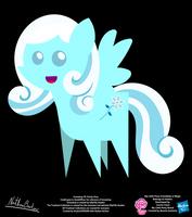 Snowdrop OC Pointy Pony by StryKariSPEEDER