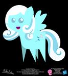 Snowdrop OC Pointy Pony