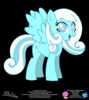 Snowdrop OC Show Style Pony by StryKariSPEEDER