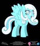 Snowdrop OC Show Style Pony