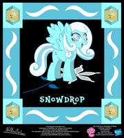 Snowdrop OC Collectible Card by StryKariSPEEDER