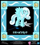 Snowdrop OC Collectible Card