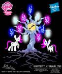 Eccentricity OC Harmony Tree Poster
