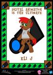 Eli J OC Poster