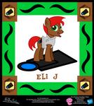 Eli J OC Collectible Card