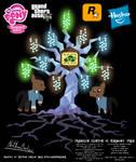 Franklin Clinton OC Harmony Tree Poster