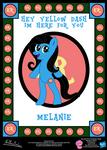 Melanie OC Poster