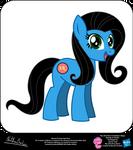 Melanie OC Show Style Pony