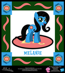 Melanie OC Collectible Card