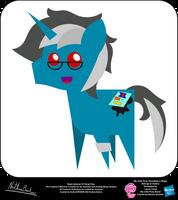 Ebony Inkstone OC Pointy Pony by StryKariSPEEDER