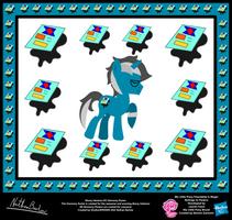 Ebony Inkstone OC Harmony Poster by StryKariSPEEDER