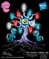 Ebony Inkstone OC Harmony Tree Poster by StryKariSPEEDER