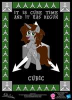 Cubic OC Poster by StryKariSPEEDER