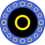 Classic Sonic Emblem Circle
