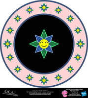 Smiling Hope OC Cutie Mark Circle by StryKariSPEEDER