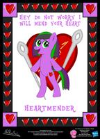 Heartmender OC Poster by StryKariSPEEDER