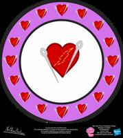 Heartmender OC Cutie Mark Circle by StryKariSPEEDER