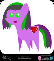 Heartmender OC Pointy Pony by StryKariSPEEDER