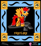 Fireflare OC Collectible Card