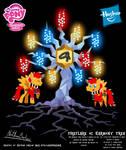 Fireflare OC Harmony Tree Poster