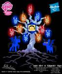 Bass Shot OC Harmony Tree Poster