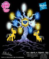 Jody Armour OC Harmony Tree Poster by StryKariSPEEDER
