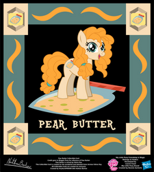 Pear Butter Collectible Card by StryKariSPEEDER