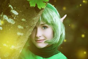 Forest Girl by RikkuGrape