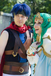 Ike and Elincia Candid