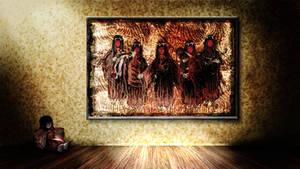 Magaki painting Wallpaper II