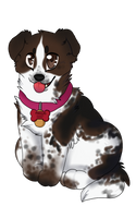 patches my dog by Nizumifangs