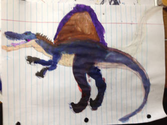 Spinosaurus by masonday