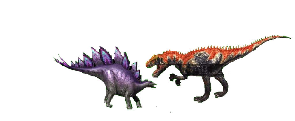 Saurophaganax Vs Stegosaurus By Masonday On Deviantart