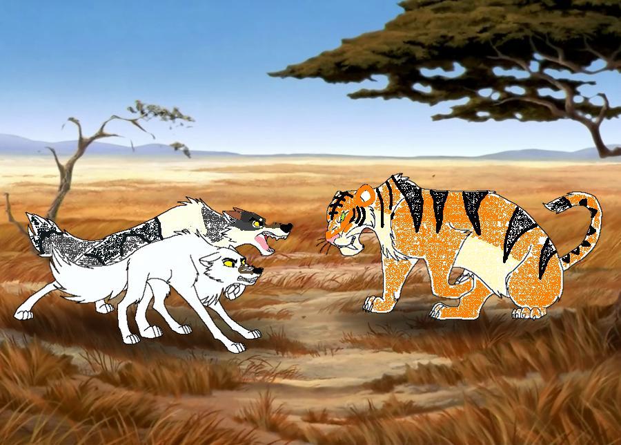 Dire wolf vs wolf - photo#20