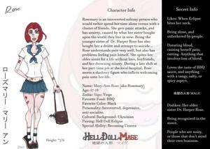 Hell Doll Mage: Rosemary