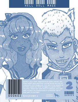 Hell Doll Mage: Bond Pairing 2 (Blue Edition)