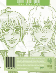 Hell Doll Mage: Bond Pairing 4 (Green Edition)