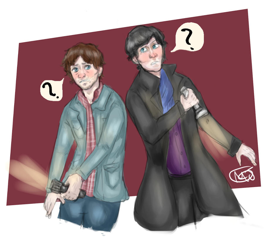 My Case - Sherlock Holmes and Will Graham by Majoh801