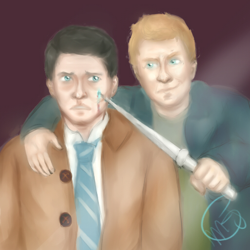 Lucifer and Castiel - Supernatural by Majoh801