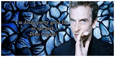 Peter Capaldi by KatGryffin