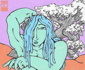 Liquid Hair with Tree