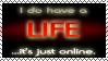 Online Life Stamp by Ark-of-Menphis