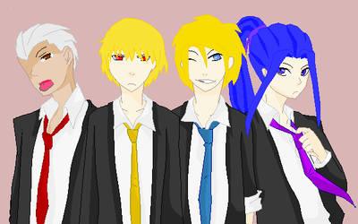 Fate/Technocore - Ninja's male fanclub