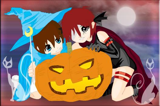 Happy Halloween From Healer and Killer