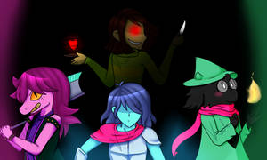 [Spoilers] Deltarune - Heros of Light