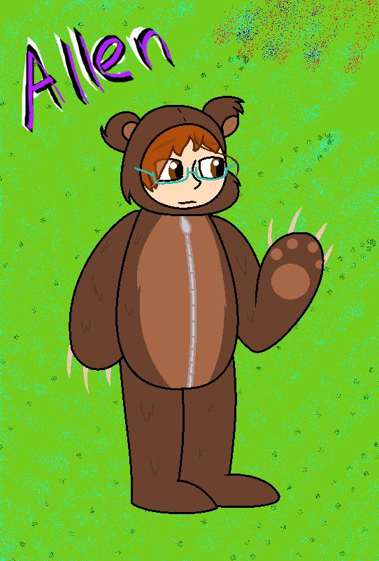 Allen bear by anglewithagun