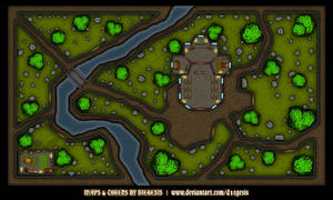Cemetery Rpg Map - Day