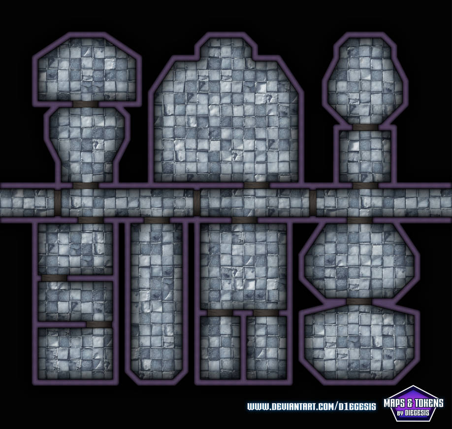 Rpg Map With One Corridor by D1egesis on DeviantArt
