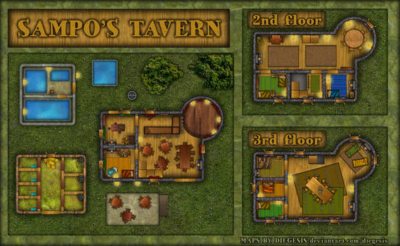 Rpg Map | Sampo's Tavern